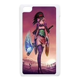 iPod Touch 4 Case White Fantasy Girl Warrior SLI_534875