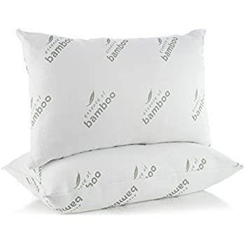 pillows for sleeping in super plush comfort essence of bamboo derived rayon premium edition