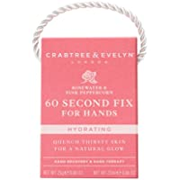 Crabtree & Evelyn Mini 60 Second Fix For Hands, Rosewater & Pink Peppercorn, 25 G
