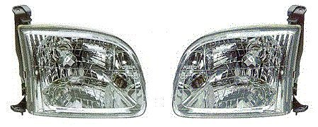 00 - 04 Toyota Tundra (Except Double Cab) Headlight Pair Set Both NEW Headlamp Both Driver and Passenger ()