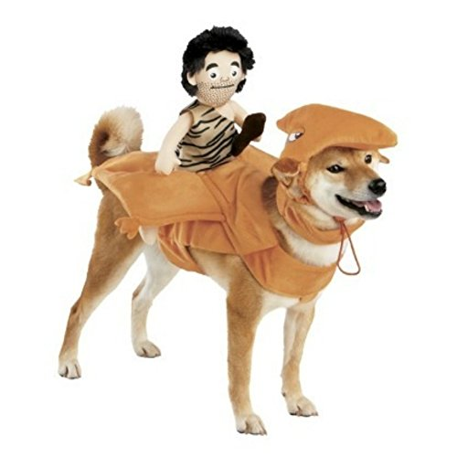 Dog Caveman Rider Costume Plush Pterodactyl Pet Costume