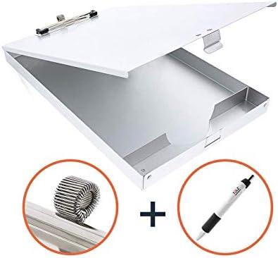 TULZ Aluminum Metal Clipboard Storage