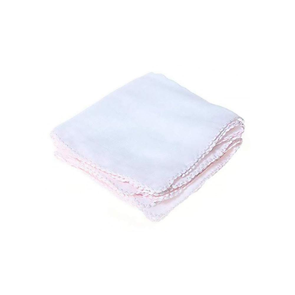 Baby Handkerchiefs Ultra Soft Cotton Newborn Small Squares Gauze Cloth Facial Cleansing Towel Bibs 10Pcs Naisidier
