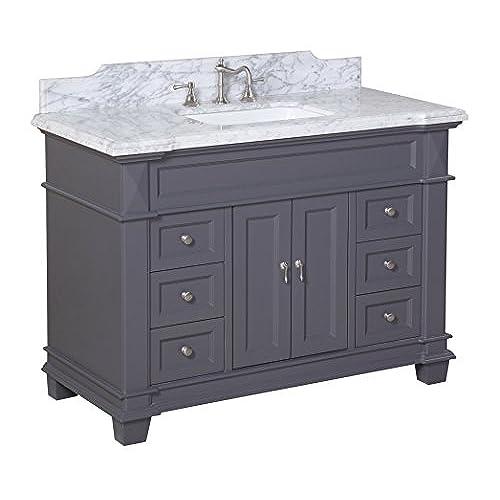 Gray Bathroom Vanities Amazon Com