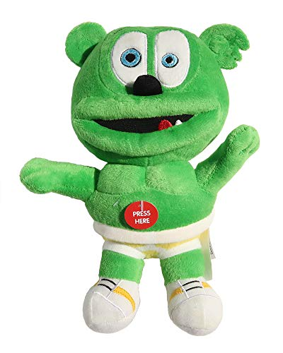 Gummy Bear Toy (Official Gummibär - Stuffed Singing Gummy)