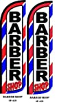 Barber Shop King Windless Flag- Pack of 2