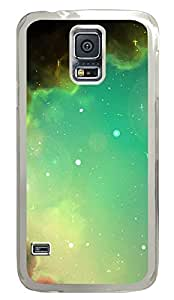 galaxy s5 case,custom samsung galaxy s5 case, TPU Material,Drop Protection,Shock Absorbent,Transparent case,Boundless sky 1