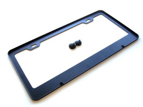 Bmw M Series Black License Plate Frame W Screw Covers