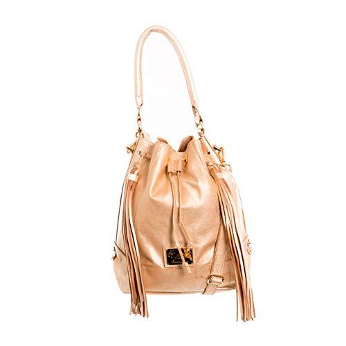 - VELEZ 03697 Colombian Leather Bags for Women | Carteras de Cuero Golden/Dorado