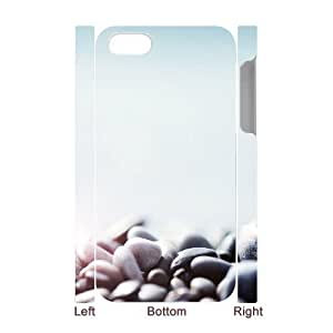3D IPhone 4/4s Case Pebbles 3, - [White] Tyquin by ruishername