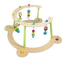 Hess Holzspielzeug 13377 – Juego de bebé y Aprendizaje de Madera con búho