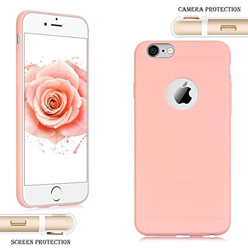 3 x Etui iPhone 6S Plus, Etui iPhone 6 Plus, SpiritSun Etui Coque TPU Slim Bumper pour Apple iPhone 6 / 6S Plus (5.5 pouces) Souple Housse de Protection Flexible Soft Case Cas Couverture Anti Choc Min