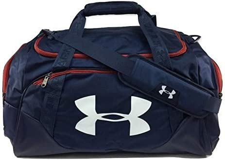 Amazon.com : Under Armour Undeniable Duffle 3.0 Gym Bag, Midnight Navy/Red, Medium : Sports & Outdoors