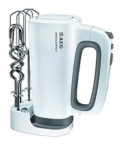 AEG HM 4200 Handmixer (mit Aufbewahrungssystem für Zubehör, Impuls-Taste für...
