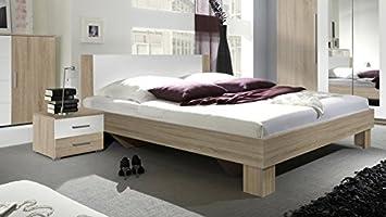 Arthauss Moderner Neu Vera Schlafzimmer, King Size Bettgestell, 200 ...
