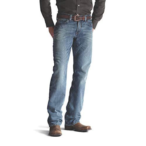 ARIAT Men's M4 Low Rise Jean, Scoundrel, 38 X 36