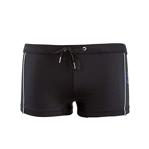 Just Cavalli Men Black Printed Square Swim Shorts Boxer Briefs Swimsuit S / - Boxers Stretch Just Cavalli