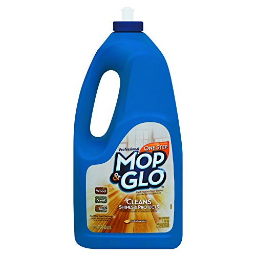 Mop & Glo Professional Multi-Surface Floor Cleaner, 384 fl oz (6 Bottles x 64 oz), Triple Action Shine Cleaner by Mop & Glo