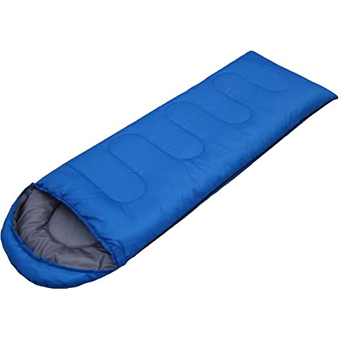 Lightahead® Weather Waterproof Windproof Envelope Sleeping Bag Comfortable Lightweight Portable Camping Gear for Outdoor Hiking, Traveling and Survival