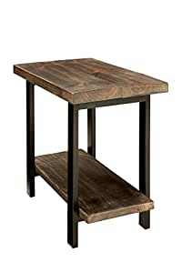 Alaterre AZMBA0120 Sonoma Rustic Natural End Table, Brown