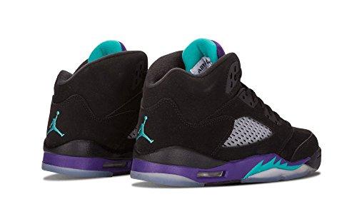 Jordan Grape Black grape Ice Nike Air 5 Gs new Emerald Trainer Black Retro YnqEq4Zc