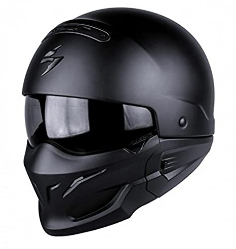 S Scorpion Casco Moto EXO-COMBAT Matt Black