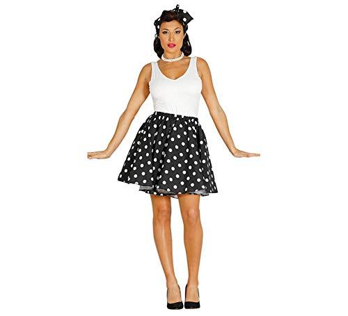 Guirca Disfraz de Chica Pin up de los Años 50 para Mujer: Amazon ...