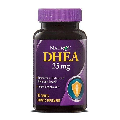 Natrol DHEA, 25mg, 90 comprimés ea