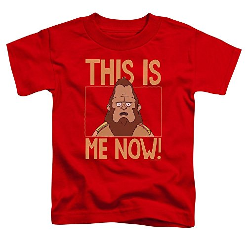 Bobs Burgers - This is Me Toddler T-Shirt 3T Red