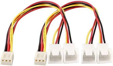 3P PC Y Cable divisor de ventilador: Amazon.es: Electrónica