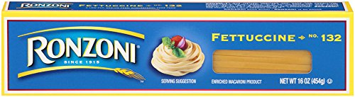 Ronzoni Fettuccine, 16-Ounce (Pack of 20) by Ronzoni