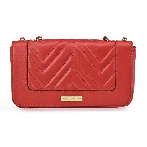 Bolso Victorio Rojo Mujer De amp; Bandolera Lucchino 10943 7wzxR