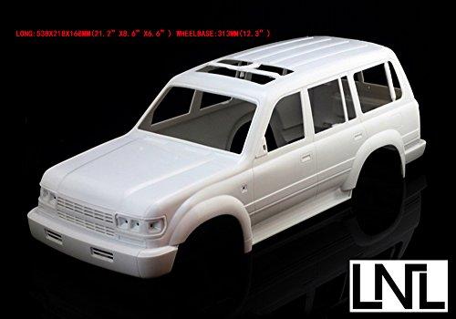 Jkshop 1:9.1 Lc80 Land Cruiser Hard Body Bodies for Scale (Rc Land Cruiser)