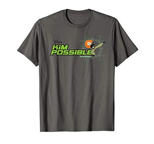 Disney Kim Possible Retro Logo Animated Series T-Shirt
