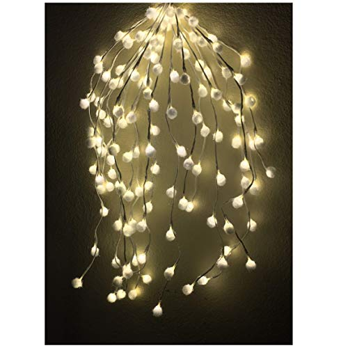 Cascading Urns - LED Light is All Your 4th of July, Your Home and Party Decoration Needs to Next level-140 LED String Lights, 2.3 ft Long Can Uniquely Decorate Your interiors.