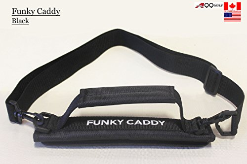 C12 A99 Golf Funky Caddy Golf Bag Driving Range Carrier Sleeve Light with velcro Black (Golf Club Caddy)