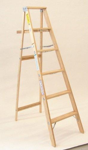 Commercial Stepladder, 48.5 H x 18.75 W x 5.25 D