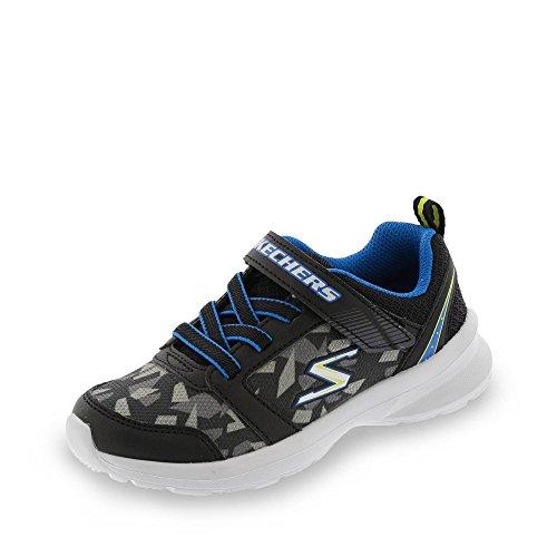 Skechers Sneaker, Groesse 35, schwarz/blau