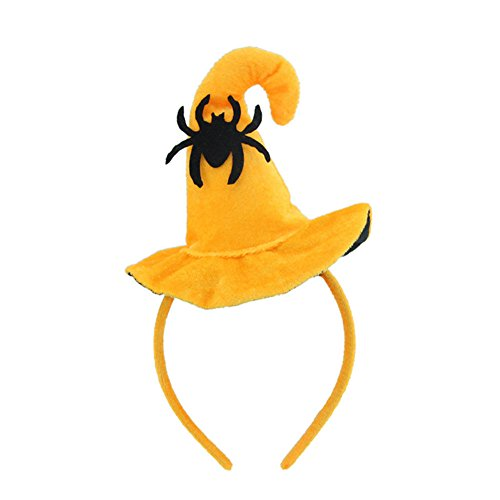 Curious George Halloween Costume Pattern (MAZIMARK--Halloween Headband Headdress Smiling Face Pumpkin Hat Party Props Decor Virtuous)