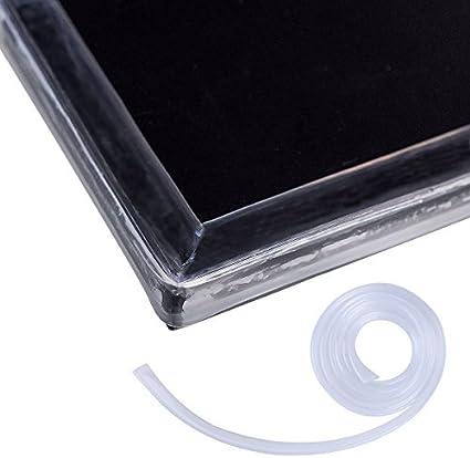 Bande Bord de Table Meuble Protection pour bien prot/éger votre B/éb/é Cunina/® Rebord Angle Pare Choc Transparent 2 M/ètre