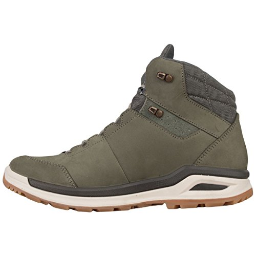 Cut Ws Nubuck Tex Locarno Off para Lowa Reed Boots Gore Quarter mujer White An0fxqYW
