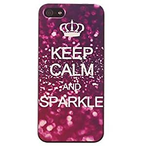 Shining Luster Pattern PC Hard Case for iphone 6 4.7