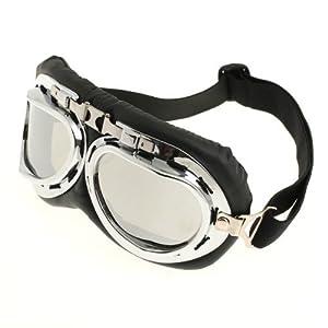 CARCHET® Lunettes Moto Cross Goggle Eyewear Glasses Lentilles Brun foncé Anti UV