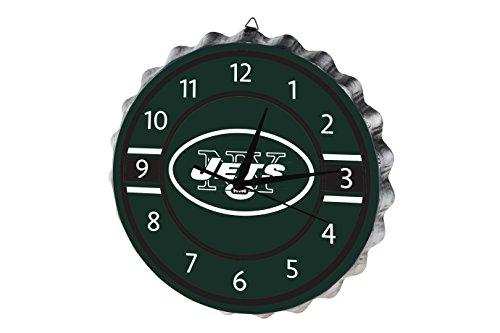 Bottle Mlb Caps (FOCO New York Jets Bottlecap Clock)
