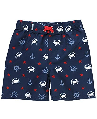 (RuggedButts Baby/Toddler Boys Crabby Sailor Swim Trunks - 12-18m)