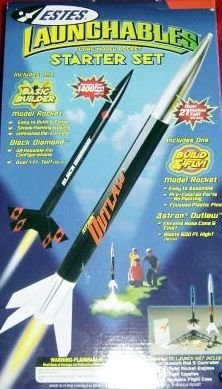 Estes Launchables - 2 Rocket Starter Set - 1452 by Estes (Image #1)