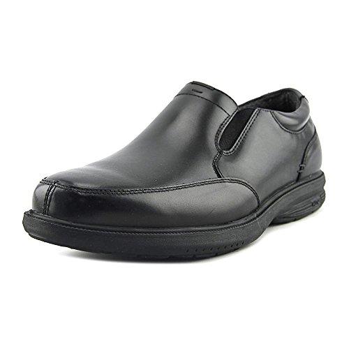 Nunn Bush Mens Myles St. Moc Teen Slip-on Black