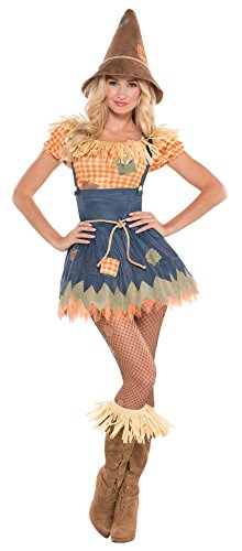 Scarecrow Costume Women's (Sultry Scarecrow Size 10-12)