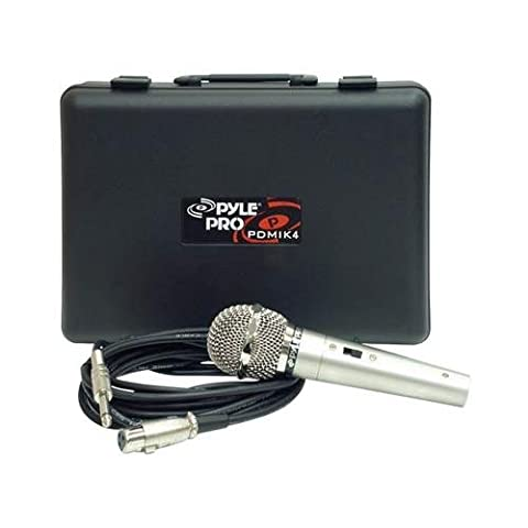 PYLE Wired Pro Microphone Kit PDMIK-4 - Pyle Pdmik 4 Dynamic Microphone