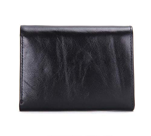 RcnryMen's Smiley Face Fashion Packs Short Black Black Wallet Leather Off Seventy Red Percent Handbag Black Multi Functional wnwvFrTqcW